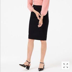 NWT J.Crew wool pencil skirt